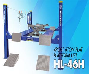 Cầu nâng 4 trụ  HL- 46H
